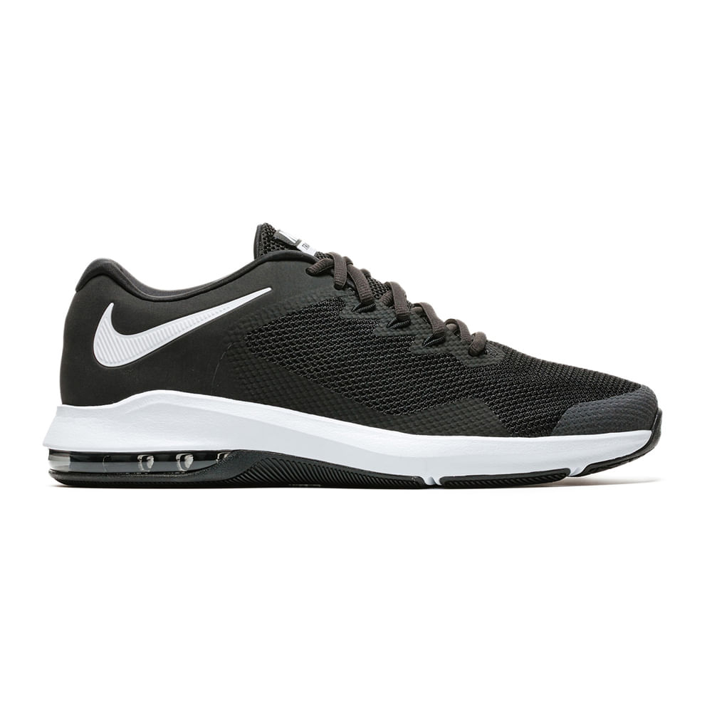 Zapatillas Nike AIR MAX ALPHA AA7060-001 Negro Blanco - passarelape cda107fedcf
