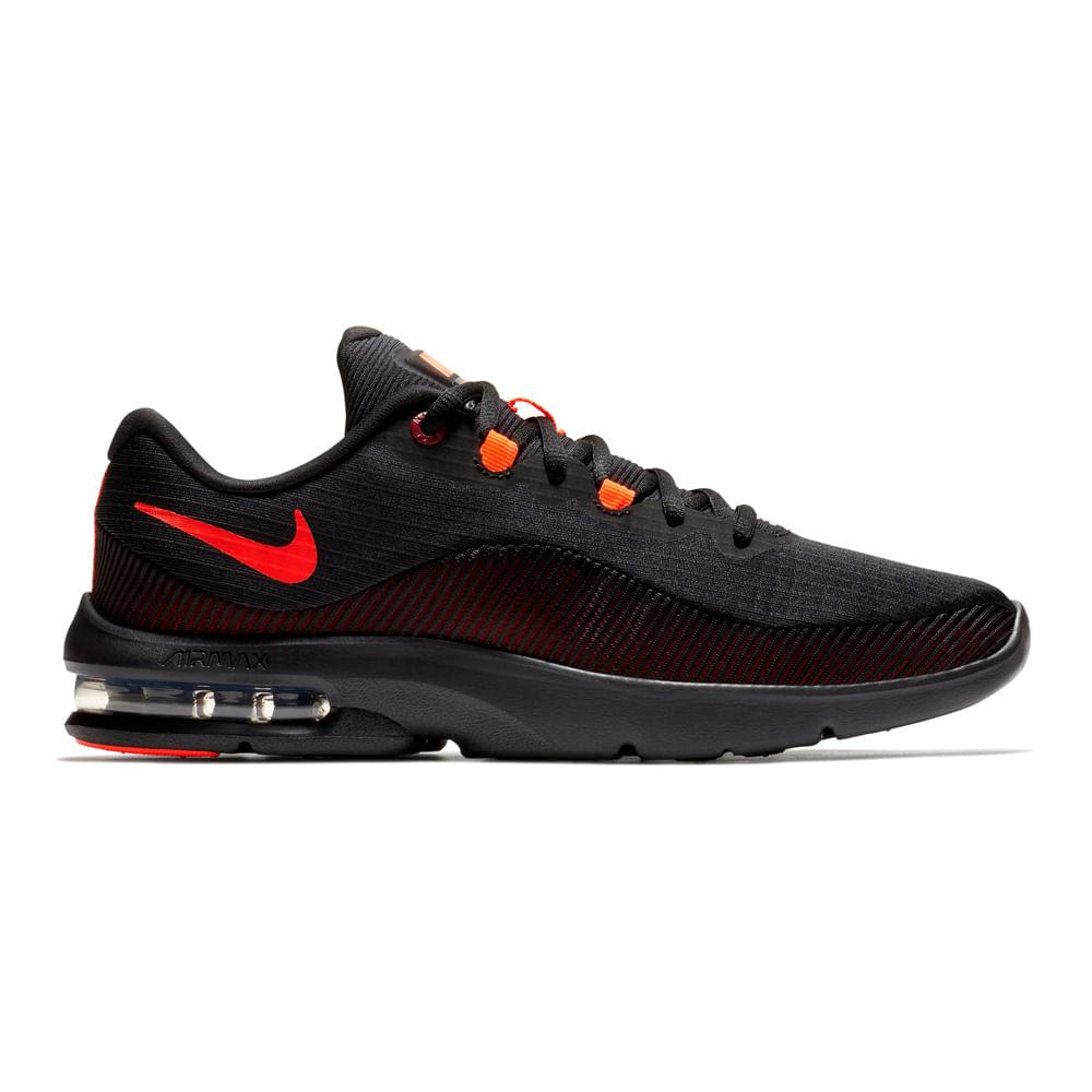 5184abee5e744 Zapatillas Nike AIR MAX ADVANTAGE 2 AA7396-004 Negro Rojo - passarelape