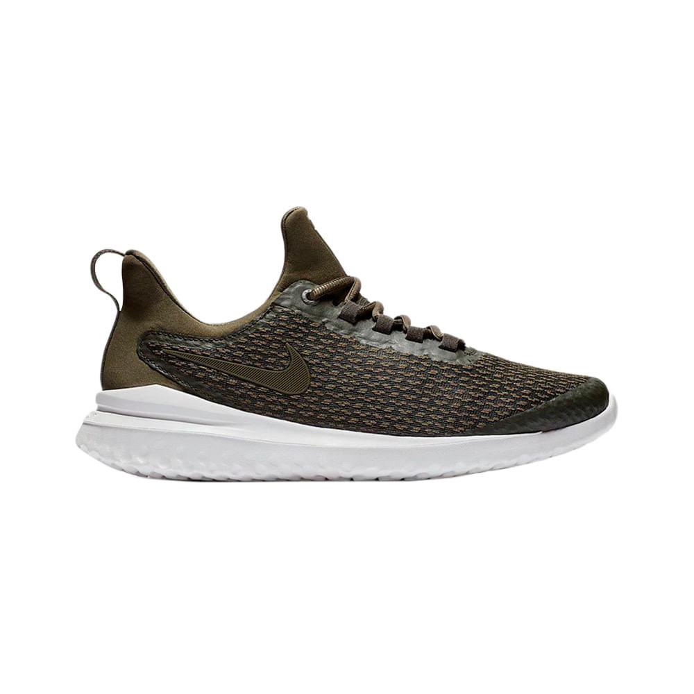 13a1f3fc57 Zapatillas Nike RENEW HAYWARD AA7400-300 Verde Blanco - passarelape