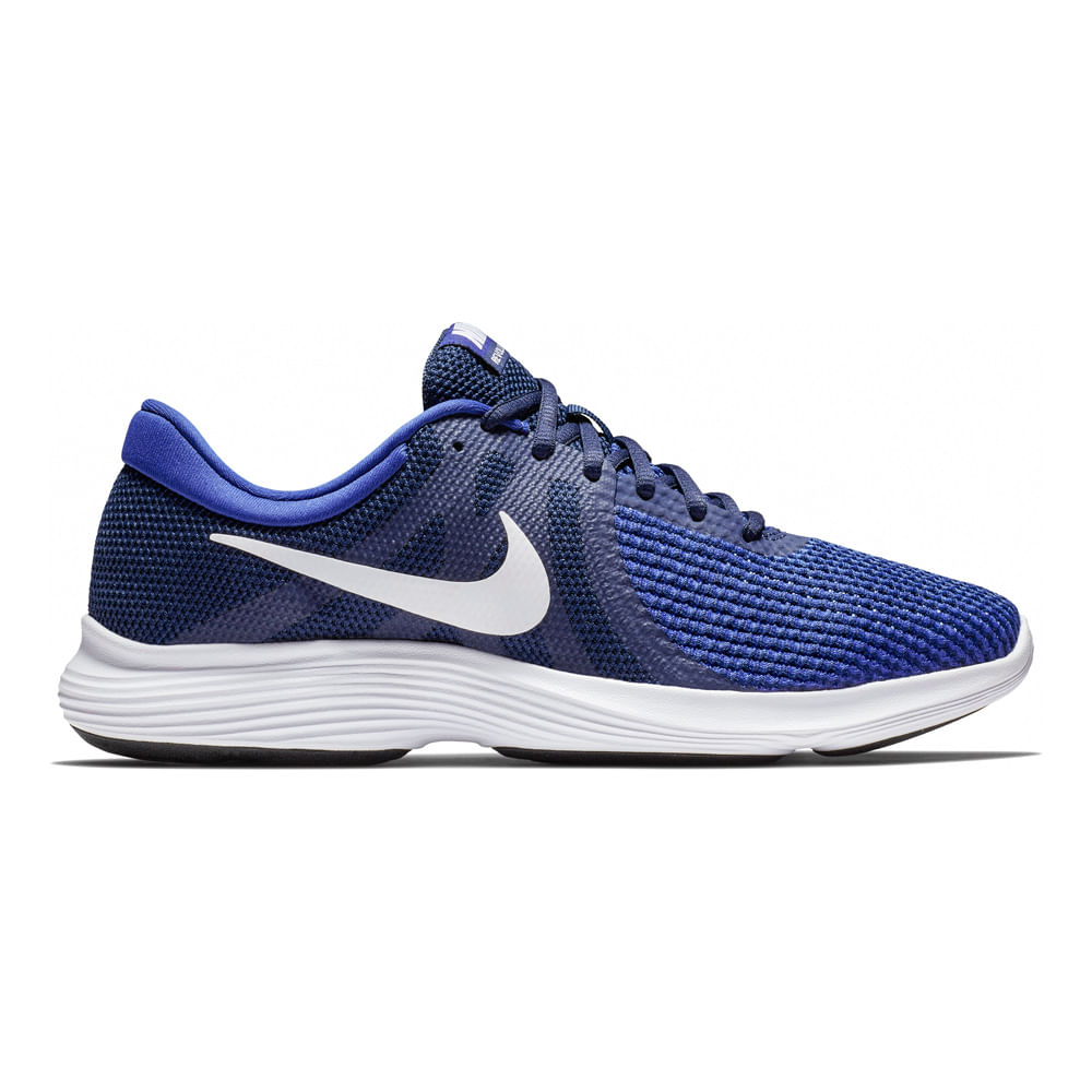 exquisite design save off lace up in Zapatillas Nike REVOLUTION 4 908988-414 Azul/Negro - footloose
