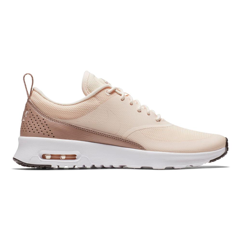 Zapatillas Nike AIR MAX THEA 599409 804 BeigeNegro footloose