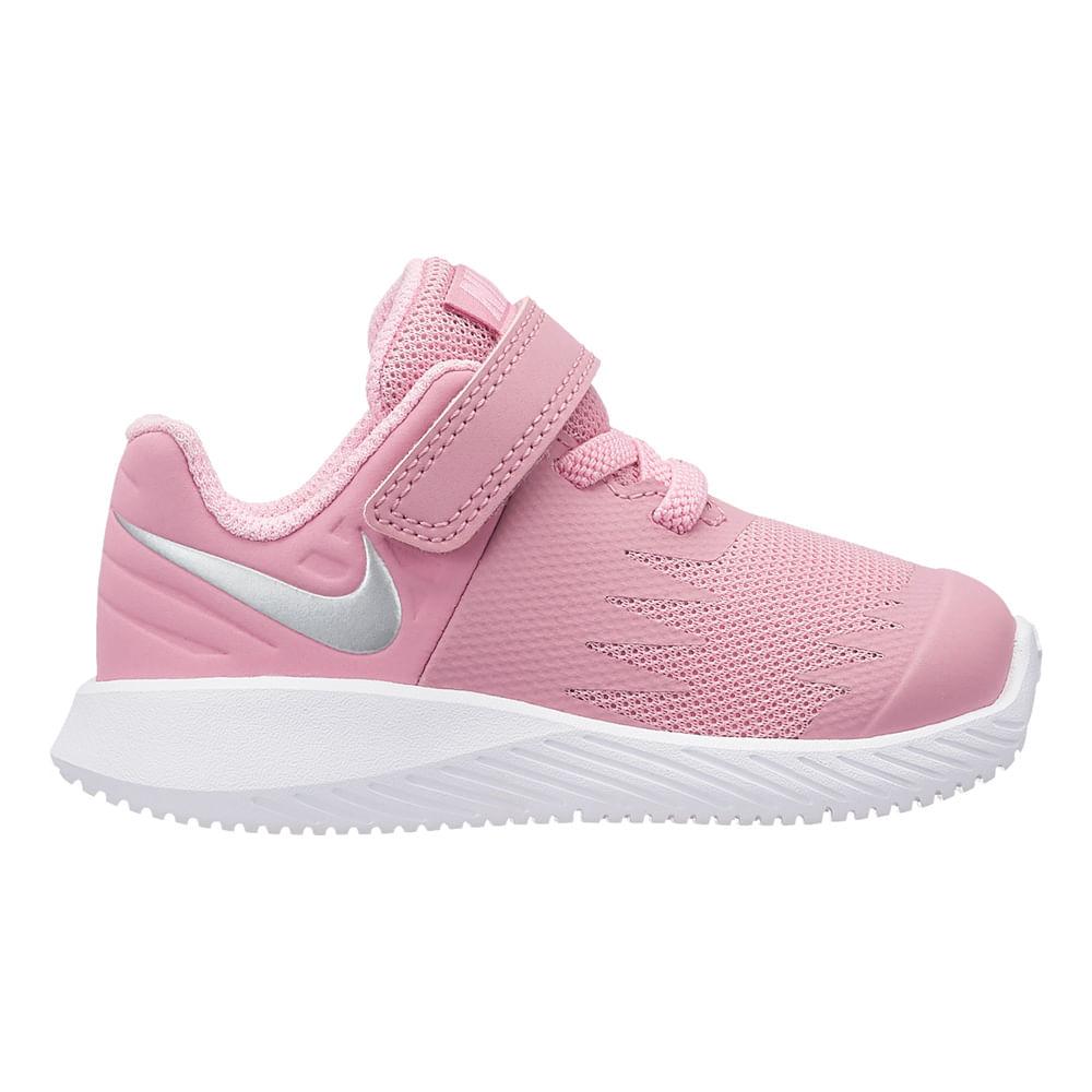 00808e1c5bf4a Zapatillas Nike STAR RUNNER 907256-601 Rosado Plata - passarelape