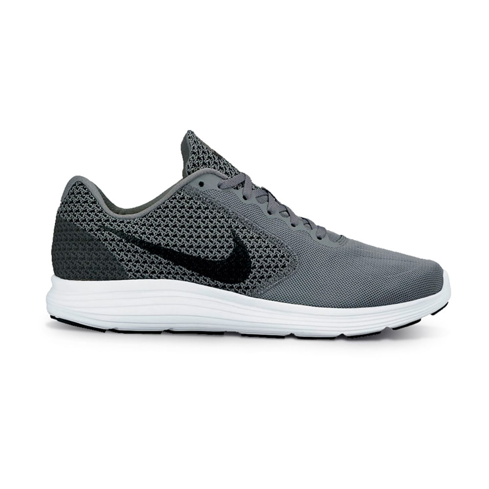 609a1253e15 Zapatillas Nike REVOLUTION 3 819300-002 Gris Negro - passarelape