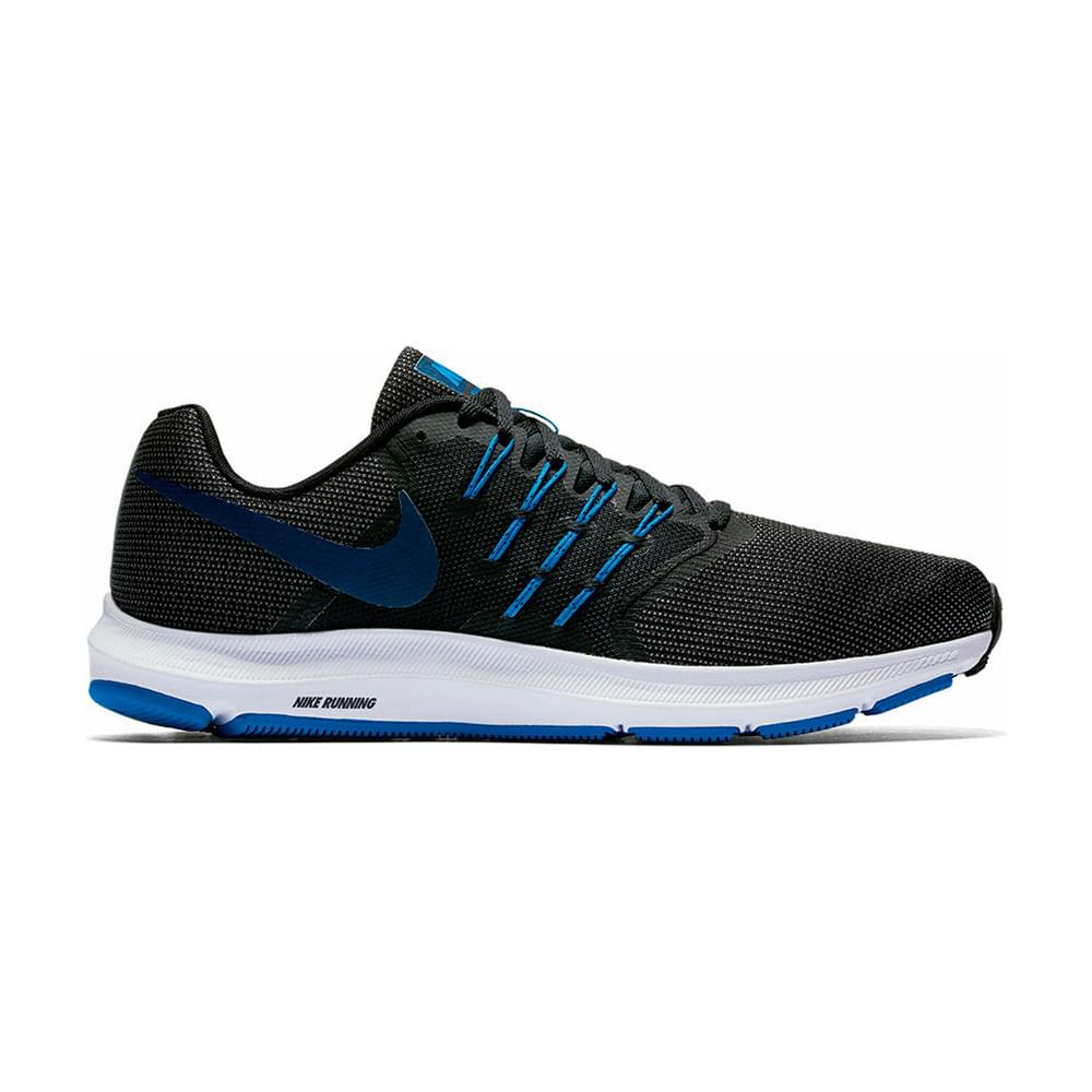 5c53e88e7 Zapatillas Nike RUN SWIFT 908989-004 Negro/Azul - passarelape