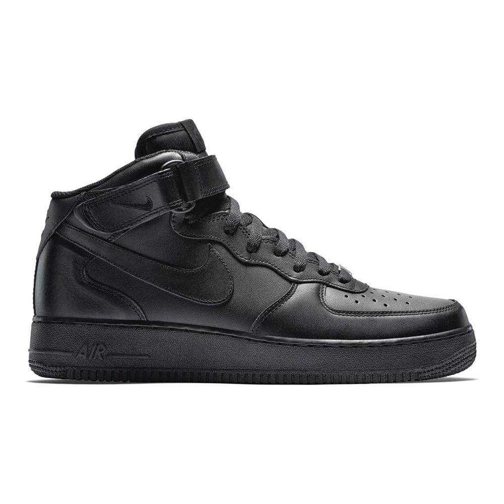 Zapatillas Nike AIR FORCE 1 315123 001 Negro passarelape