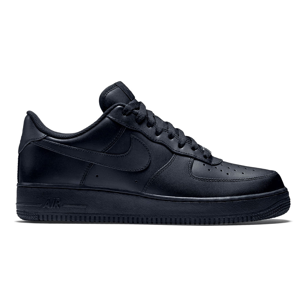 varios estilos recoger invicto x Zapatillas Nike AIR FORCE 1 07 315122-001 Negro - footloose