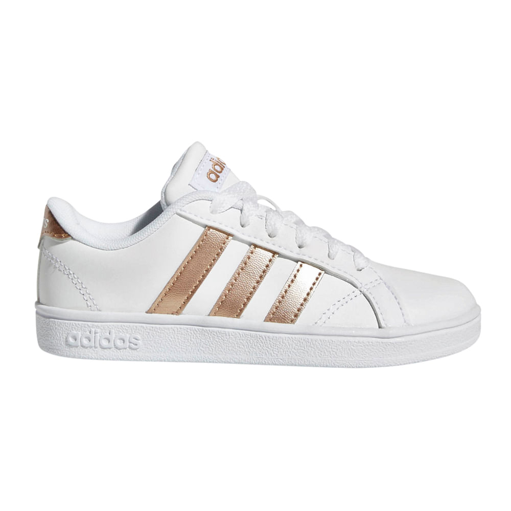 AQ0783 Zapatillas BASELINE K footloose Blanco Adidas iwZOXTPku