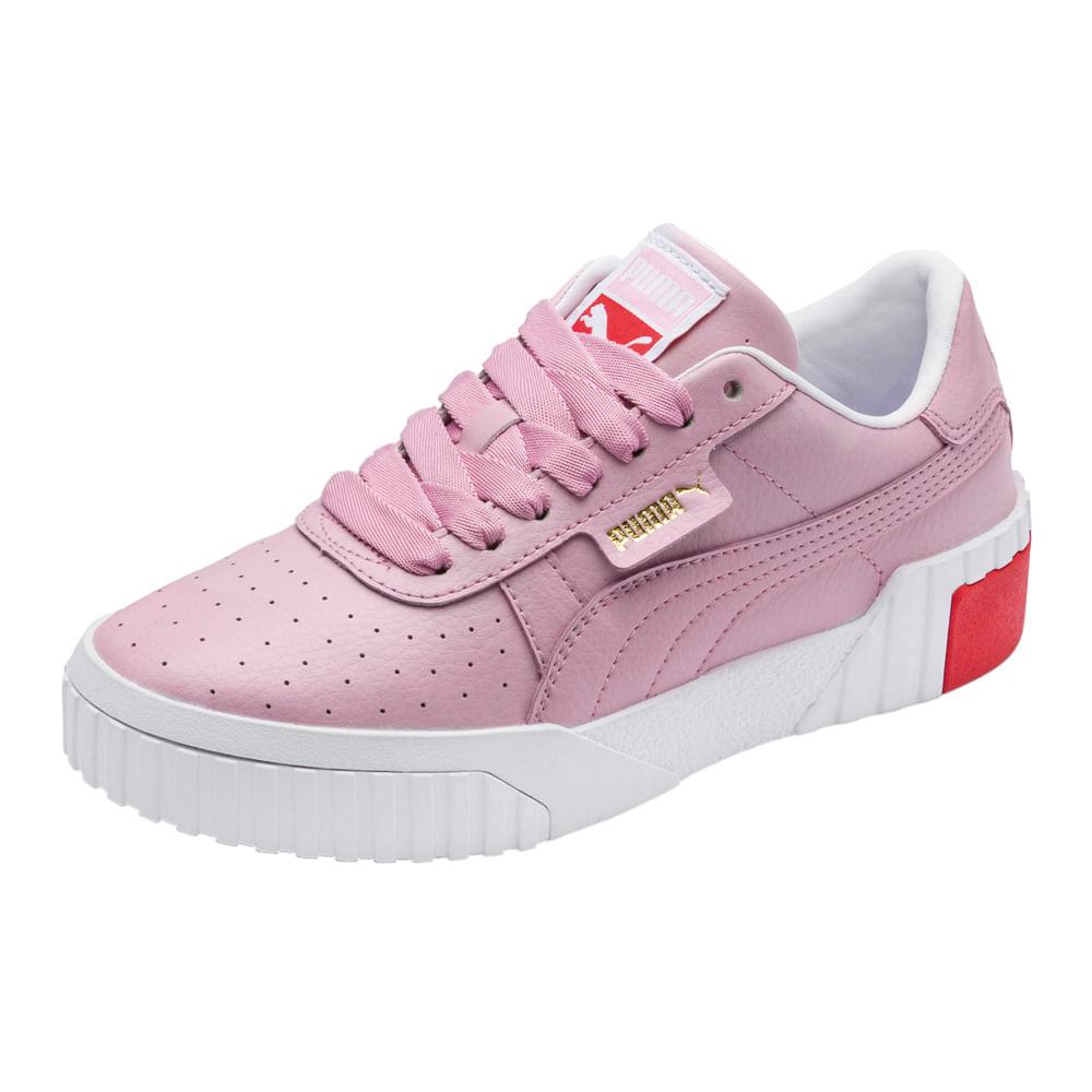 puma cali mujer rosa