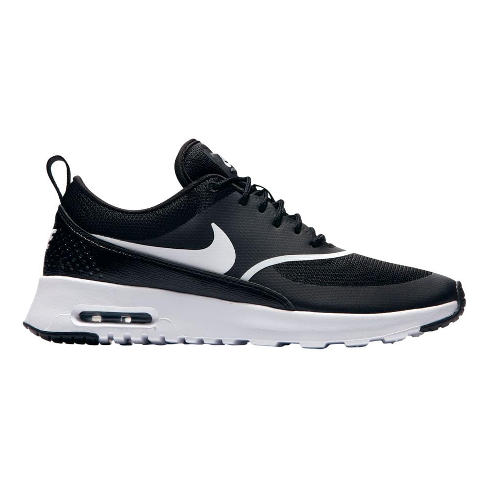 premium selection 7c5d5 854d7 Zapatillas Nike W NIKE AIR MAX THEA 599409-028 Negro - passarelape