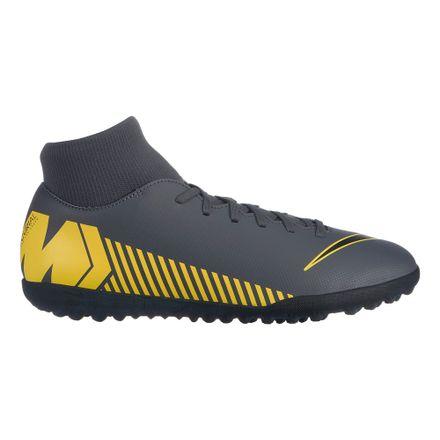 ef638a904384d Zapatillas Nike SUPERFLY 6 CLUB TF AH7372-070 Gris Dorado - passarelape