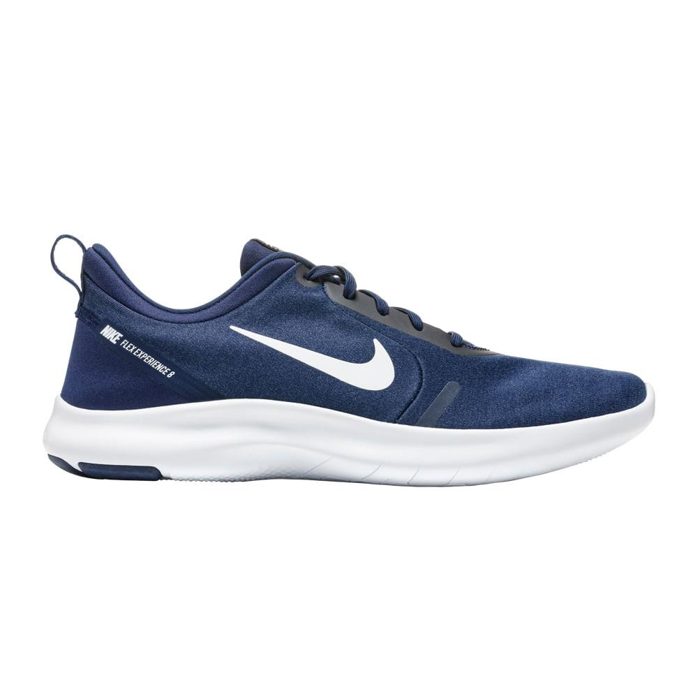 8d653cce6df Zapatillas Nike NIKE FLEX EXPERIENCE RN 8 AJ5900-401 Azul Dorado ...