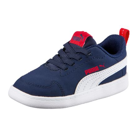Zapatillas-Puma-COURTFLEX-INF-362651-01-Azul-Blanco