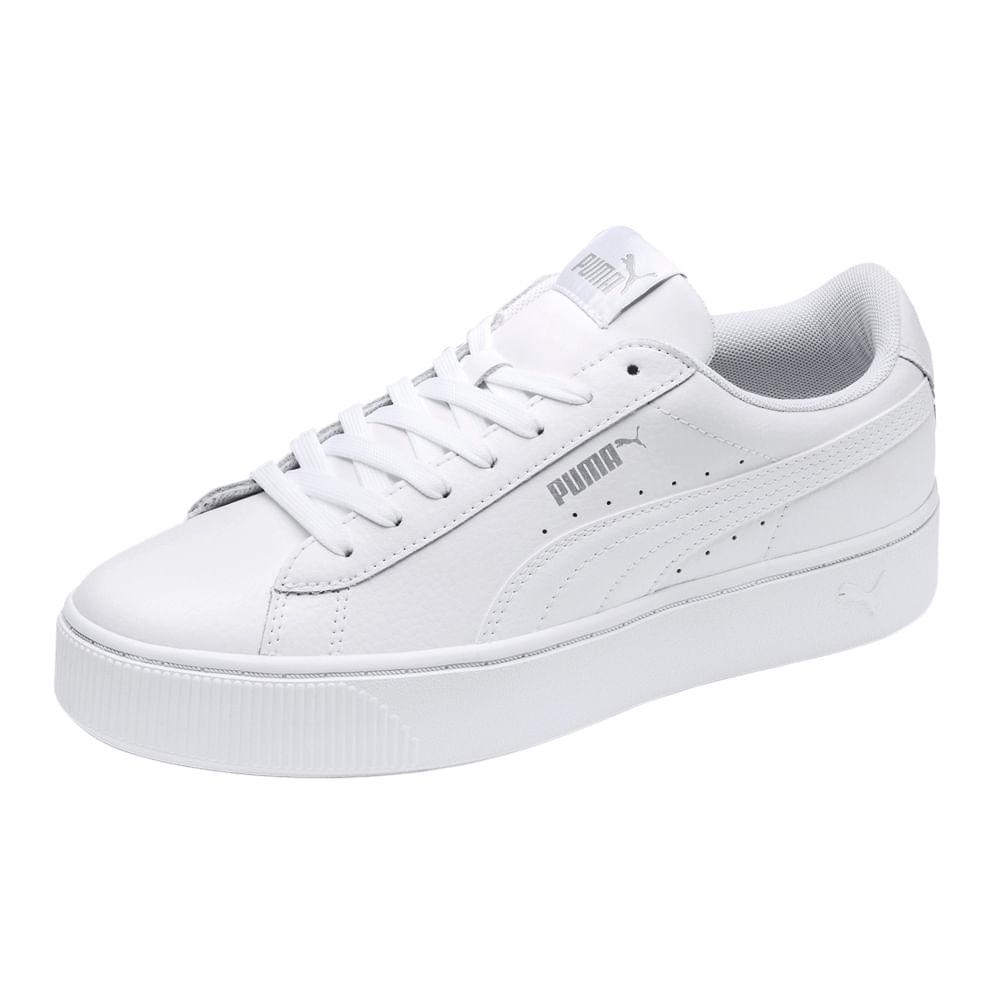 zapatillas mujer blancas puma