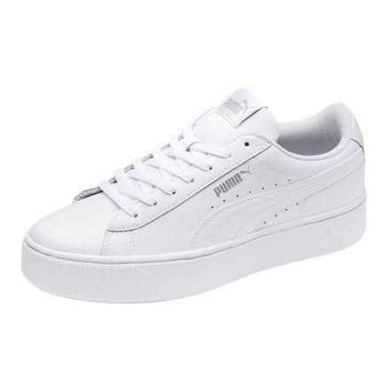 mejor zapatos casuales estilo moderno Zapatillas Puma PUMA VIKKY STACKED L 369143 02 Blanco ...