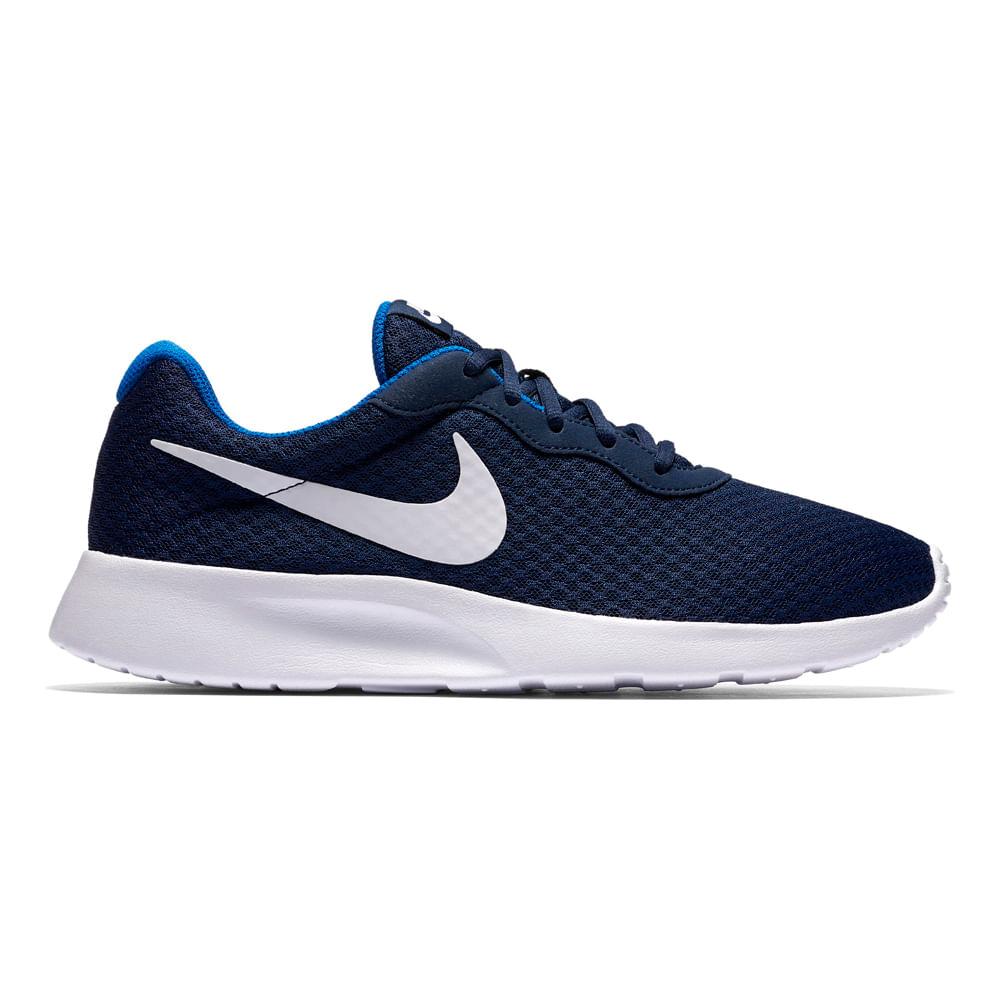 f8fd74023 Zapatillas Nike TANJUN 812654-414 Azul Blanco - passarelape