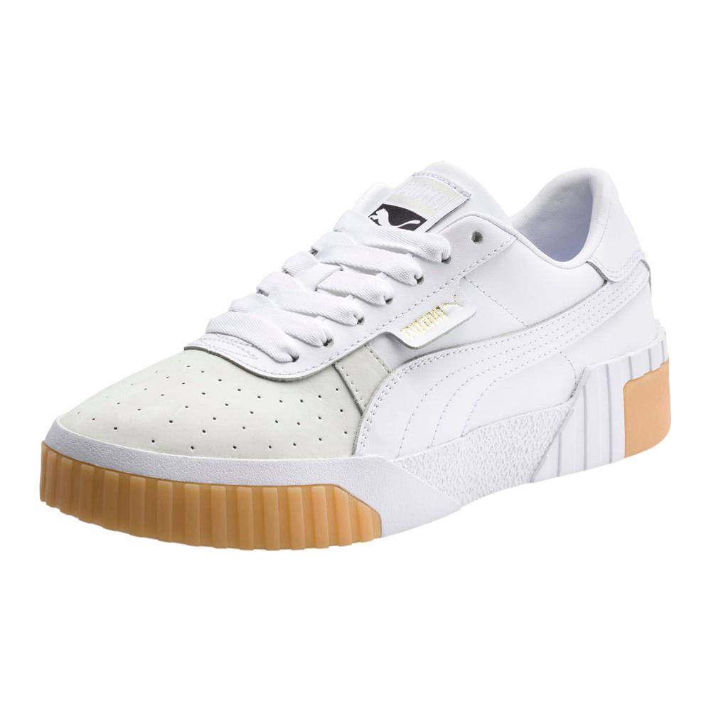 zapatos puma mujer blancos