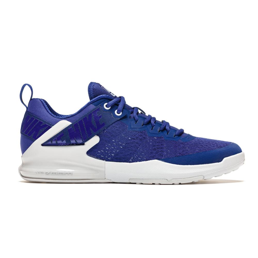 10c69b6cd Zapatillas Nike NIKE ZOOM DOMINATION TR 2 AO4403-400 Azul - passarelape