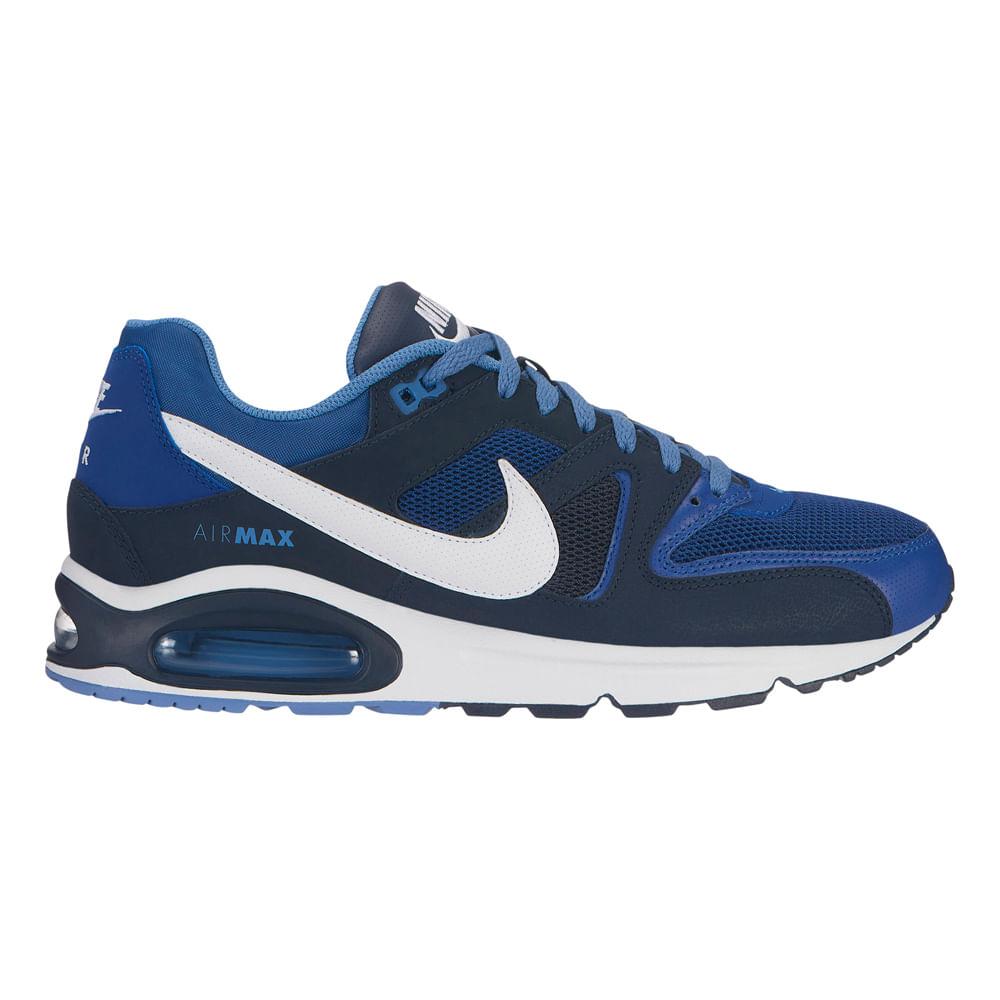 Zapatillas Nike NIKE AIR MAX COMMAND 629993 410 Azul footloose