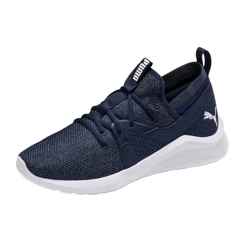puma zapatillas hombre azul