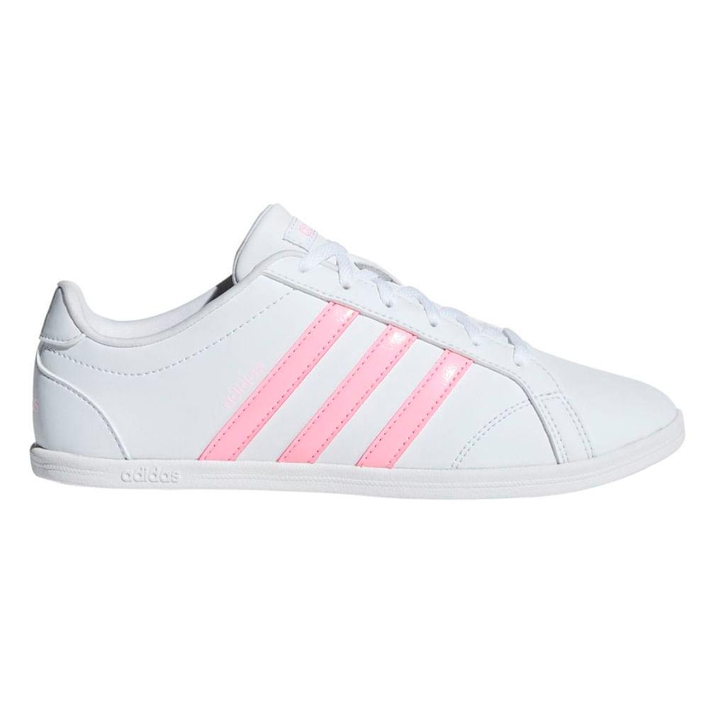 adidas coneo zapatillas casual blanco mujer