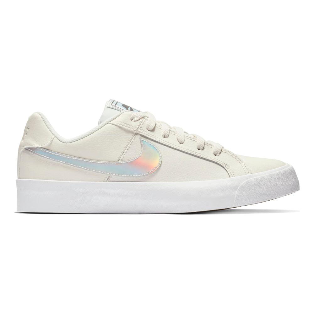 c57854f4 Zapatillas Nike WMNS NIKE COURT ROYALE AC AO2810-104 Blanco ...