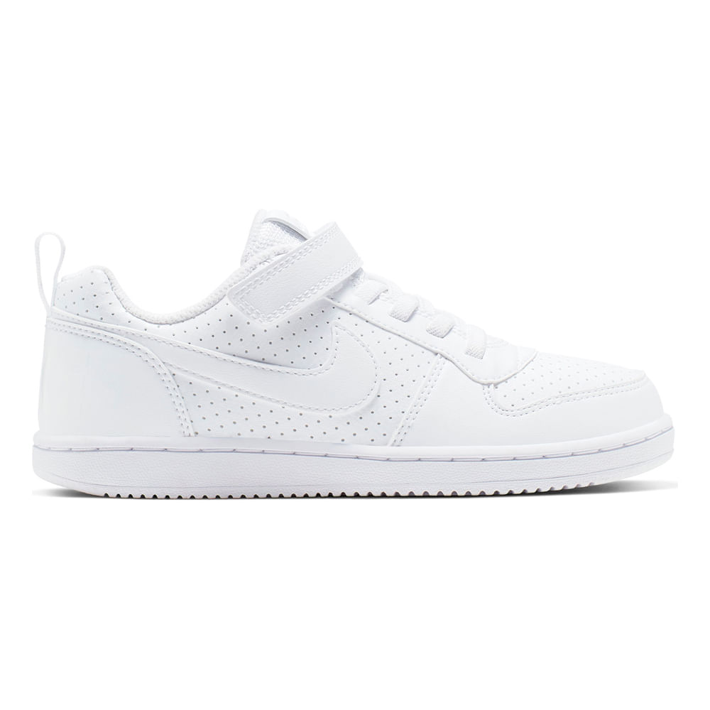 990cad534 Zapatillas Nike COURT BOROUGH LOW AL BPV AV3167-100 Blanco - footloose