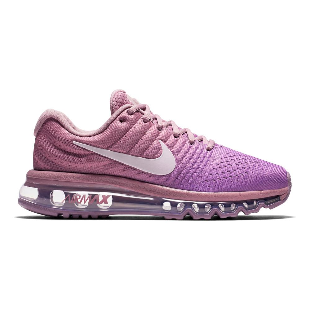Footloose Zapatillas Air 555 849560 Lila Wmns Max 2017 Nike 43Rj5LA