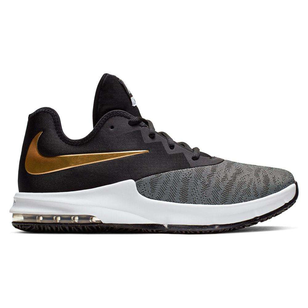 Zapatillas Nike AIR MAX INFURIATE III LOW AJ5898 002 Negro