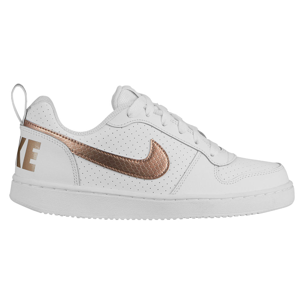 Zapatillas Nike COURT BOROUGH LOW EP BG BV0745 100 Blanco