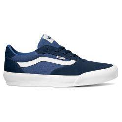 zapatillas vans niño azul