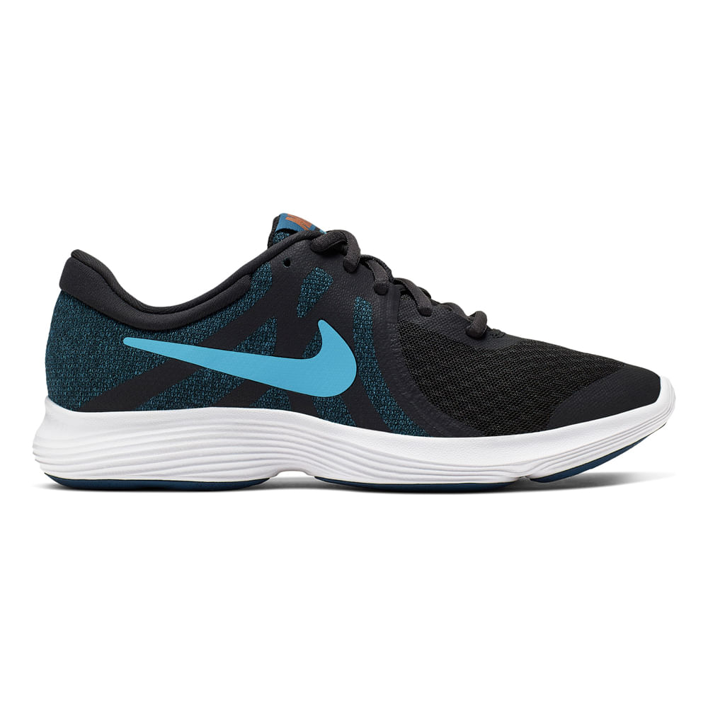 Zapatillas Nike NIKE REVOLUTION 4 (GS) 943309 016 Gris