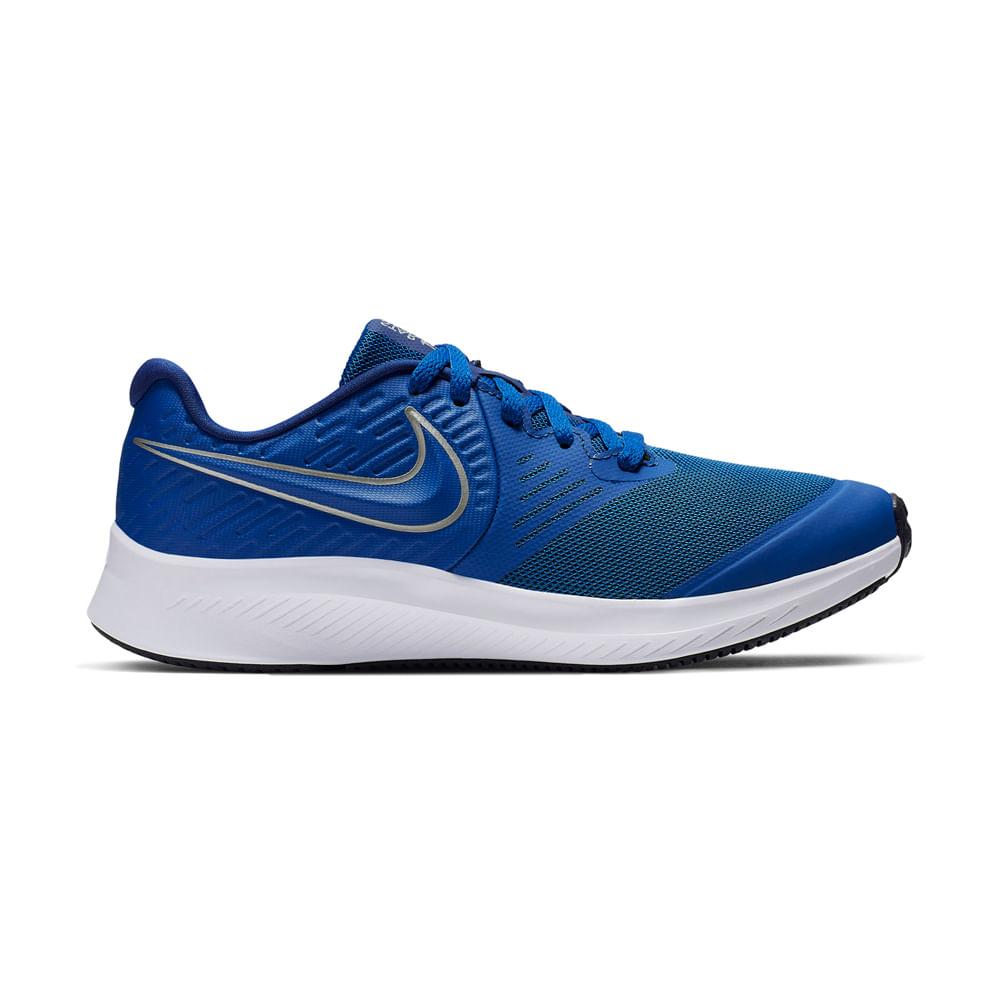 Competir eterno Visible  Zapatillas Nike NIKE STAR RUNNER 2 GS AQ3542-400 Azulino - footloose