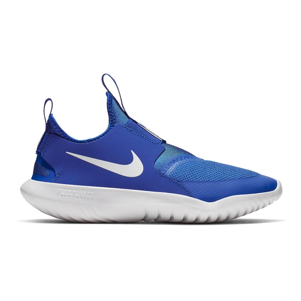 Zapatillas Nike NIKE FLEX RUNNER GS AT4662 400 Azulino