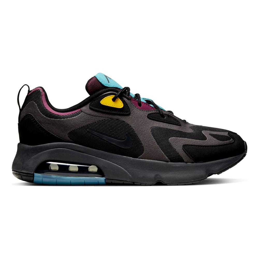 Zapatillas Nike AIR MAX 200 AQ2568 001 Negro footloose