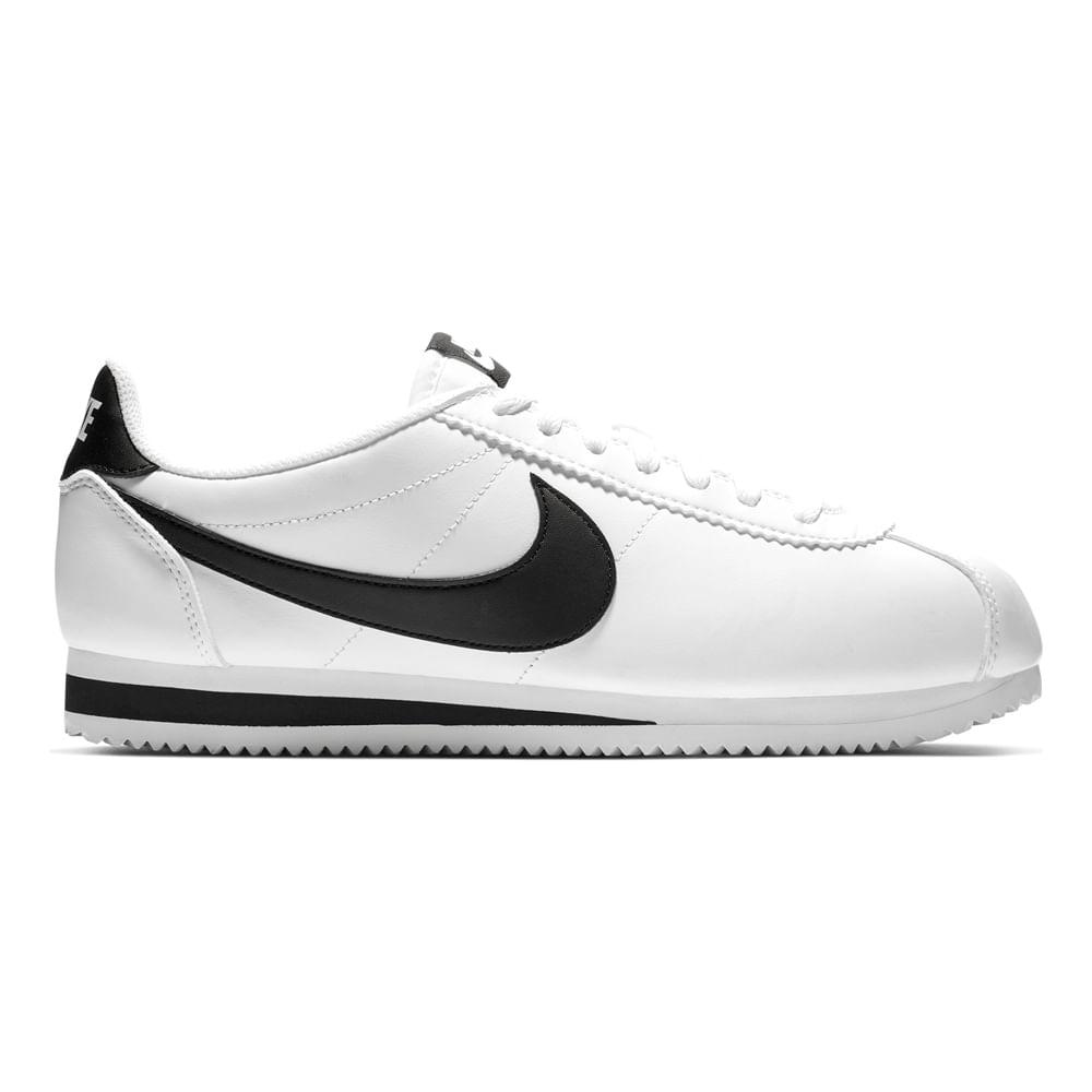 En particular conferencia Lada  Zapatillas Nike CLASSIC CORTEZ 807471-101 Blanco/Negro - footloose