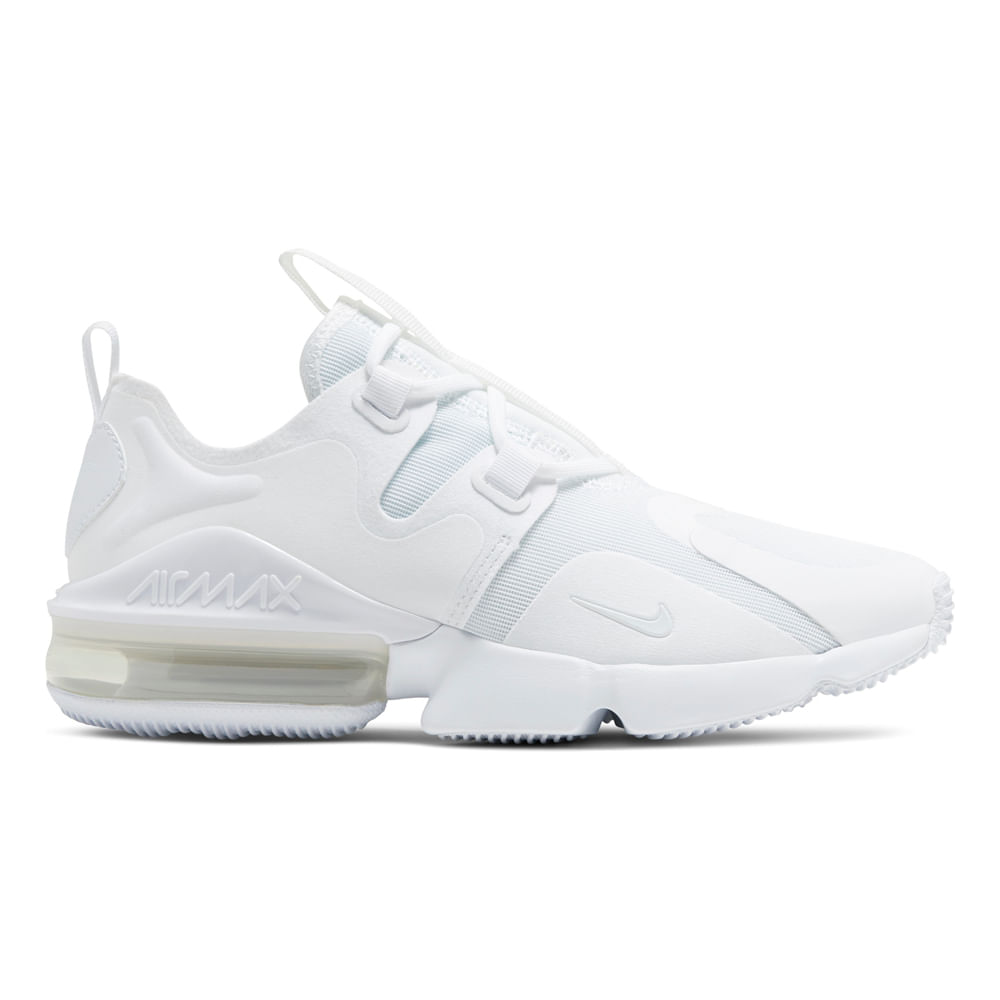 Zapatillas Nike WMNS AIR MAX INFINITY BQ4284-100 Blanco ...